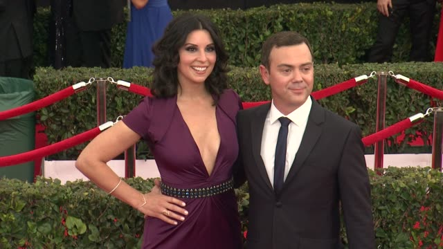 joe lo truglio at the 21st annual screen actors guild awards - arrivals at the shrine auditorium on january 25, 2015 in los angeles, california. - shrine auditorium stock videos & royalty-free footage