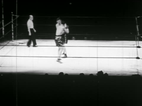 joe louis james braddock boxing while referee watches - 1937 stock videos & royalty-free footage