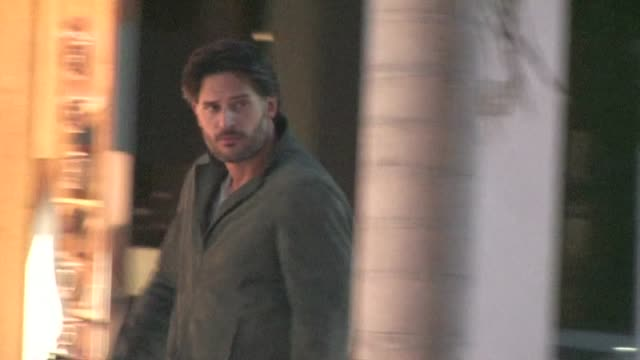 joe manganiello arrives at rimowa rodeo drive store opening in beverly hills - store opening stock videos & royalty-free footage