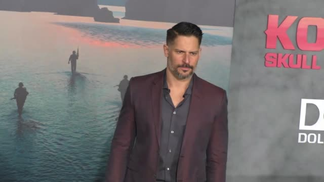 joe manganiello at dolby theatre on march 08 2017 in hollywood california - キングコング 髑髏島の巨神点の映像素材/bロール