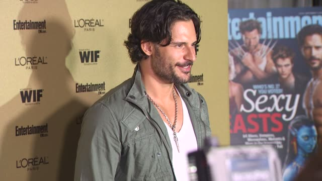 joe manganiello at the entertainment weekly and women in film pre-emmy party at west hollywood ca. - pre emmy party stock videos & royalty-free footage