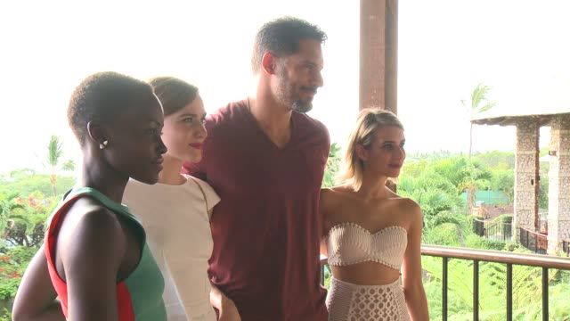 Joe Manganiello Emma Roberts Evan Rachel Wood and Lupita Nyong'o 2014 Maui Film Festival At Wailea Day 1 on June 04 2014 in Wailea Hawaii