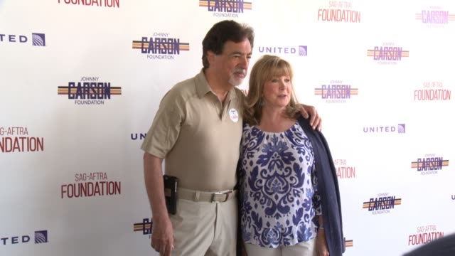 Joe Mantegna and Cyd Wilson at the SAGAFTRA FoundationActors Inspiration Award To Rashida Jones8th Annual Los Angeles Golf Classic at Lakeside Golf...