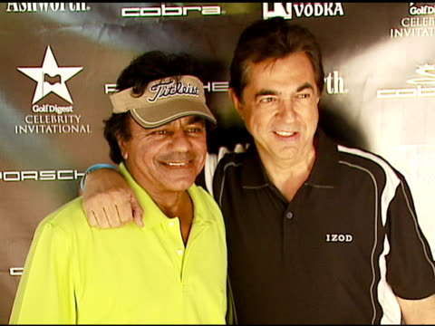Joe Mantegna and Johnny Mathis at the Golf Digest Celebrity Invitational at Cabana Club at the Wilshire Country Club in Los Angeles California on...