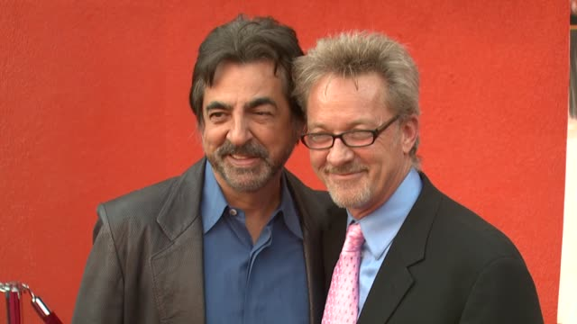 Joe Mantegna and Mark Thompson writer at the 'Mother Ghost' Premiere at Universal CityWalk AMC Theatre in Universal City California on April 3 2007