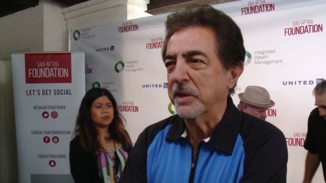 INTERVIEW Joe Mantegna at SAGAFTRA Foundation Honors Kerry Washington With Actors Inspiration Award At 7th Annual Los Angeles Golf Classic at...