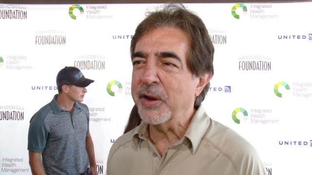 INTERVIEW Joe Mantegna at Screen Actors Guild Foundation Kicks Off 30th Anniversary Honors Sofia Vergara With Actors Inspiration Award At 6th Annual...