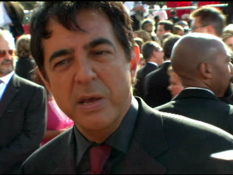 Joe Mantegna at the 2004 Primetime Emmy Awards Arrival Interviews at the Shrine Auditorium in Los Angeles California on September 19 2004
