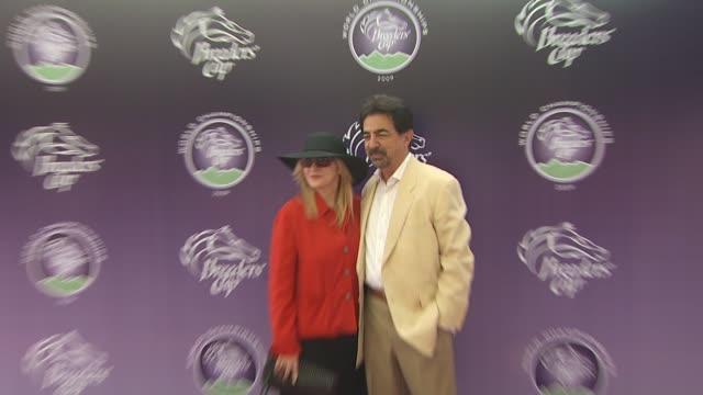Joe Mantegna at the Breeders' Cup World Thoroughbred Championships at Arcadia CA