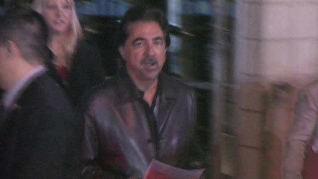 Joe Mantegna at the 'Cars 2' after party in Hollywood on 6/18/2011