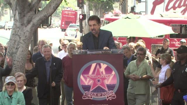 Joe Mantegna at the Charles Durning Honored With Star On Hollywood's Walk of Fame at Los Angeles CA