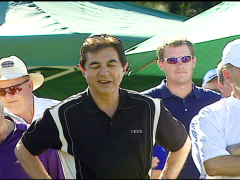 Joe Mantegna at the Golf Digest Celebrity Invitational at Cabana Club at the Wilshire Country Club in Los Angeles California on November 6 2006