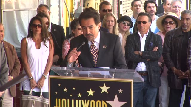 Joe Mantegna at the Joe Mantegna Honored with a Star on the Hollywood Walk of Fame at Hollywood CA