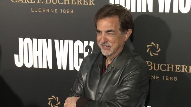 Joe Mantegna at the John Wick Chapter 2 US Premiere at ArcLight Hollywood on January 30 2017 in Hollywood California