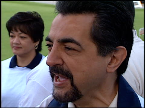 Joe Mantegna at the LAPD Celeb Golf Tournament at Rancho Park in West Los Angeles California on May 16 1998