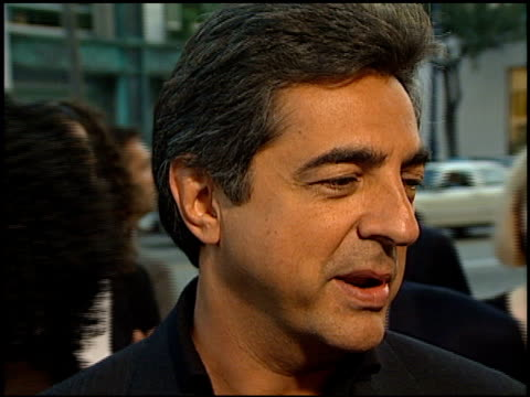 Joe Mantegna at the Premiere of 'The Rat Pack' at the Academy Theater in Beverly Hills California on August 18 1998