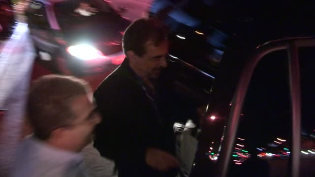Joe Mantegna departs the CBS 2012 Fall Premiere Party in West Hollywood 09/18/12