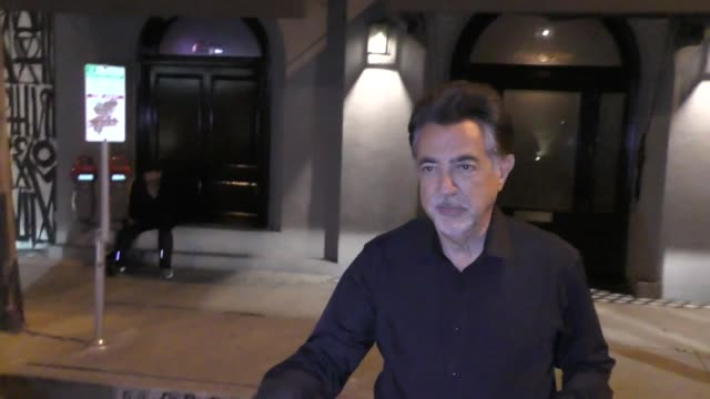 INTERVIEW Joe Mantegna from Simpsons talks about a Fat Tony Spinoff outside Craig's in West Hollywood in Celebrity Sightings in Los Angeles