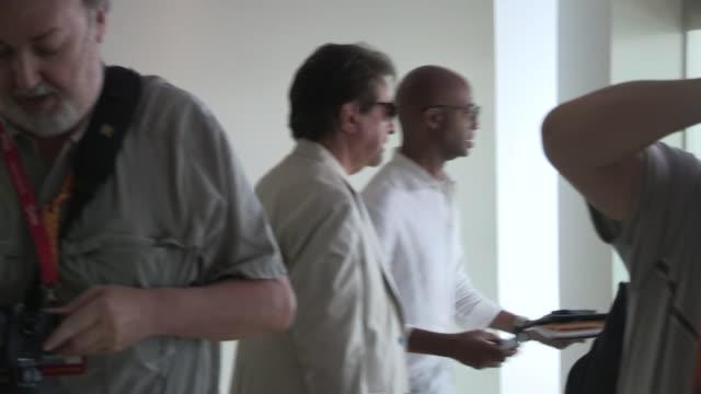 Joe Mantegna greets fans in San Diego 07/14/12