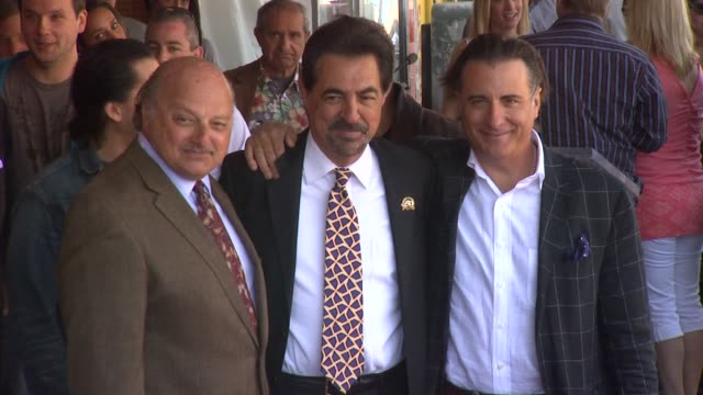 Joe Mantegna Honored with a Star on the Hollywood Walk of Fame Hollywood CA United States 05/2/11