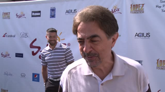 INTERVIEW Joe Mantegna on being a part of the afternoon at The 7th Annual George Lopez Celebrity Golf Classic Presented By Sabra Salsa at Lakeside...