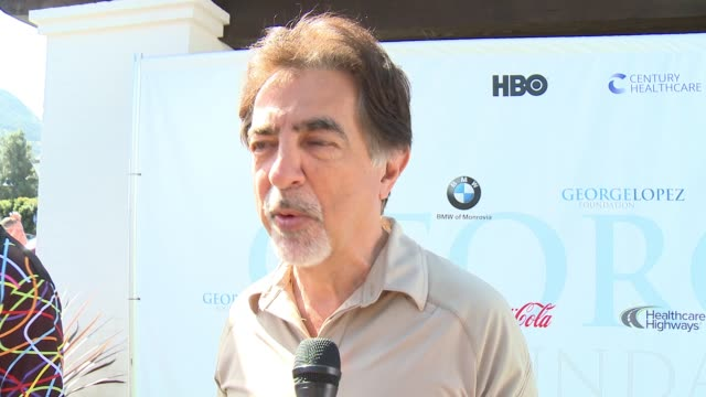 INTERVIEW Joe Mantegna on being a part of today on being involved in the organization on golfing at the 10th Annual George Lopez Foundation Celebrity...