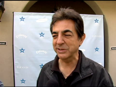 Joe Mantegna on being apprehensive about the game on his ranking in Golf Digest on people's reaction to his ranking at the Golf Digest Celebrity...