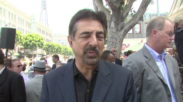 Joe Mantegna on Charles Durning's career and why he is so deserving of the star at the Charles Durning Honored With Star On Hollywood's Walk of Fame...