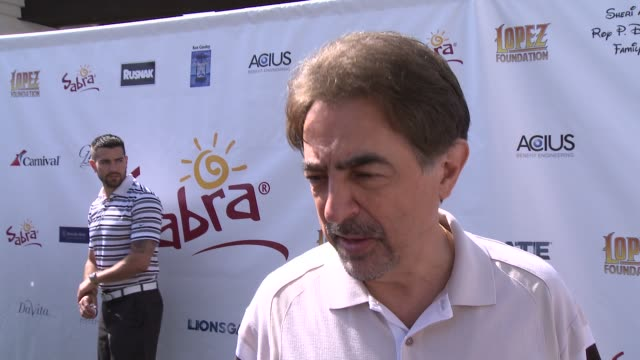 INTERVIEW Joe Mantegna on George Lopez's philanthropic efforts and the organization's mission at The 7th Annual George Lopez Celebrity Golf Classic...