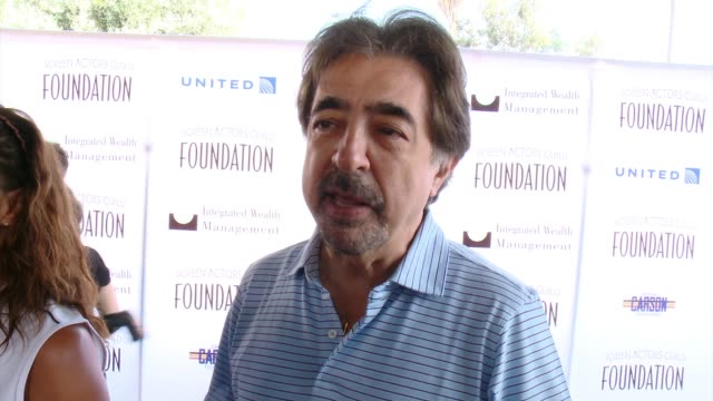 INTERVIEW Joe Mantegna on participating in the SAG Foundation Golf Classic why he supports the SAG Foundation at 5th Annual Screen Actors Guild...