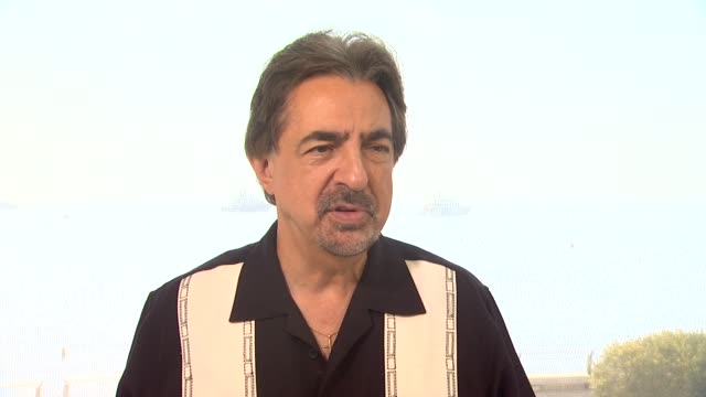 INTERVIEW Joe Mantegna on what he's doing after the festival and on his series 'Criminal Minds' at the 53rd MonteCarlo Television Festival Day 3 in...