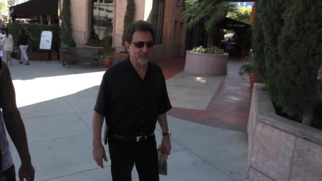 Joe Mantegna walking on Bedford in Beverly Hills in Celebrity Sightings in Los Angeles