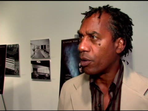 Joe Morton/ Actor Mr Morton wears a Versace blazer He talks about how he got involved in the project his character in the film and working with Robin...