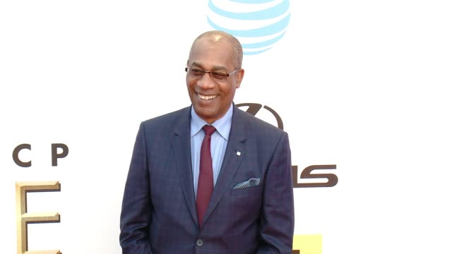 joe morton at 47th annual naacp image awards at pasadena civic auditorium on february 05 2016 in pasadena california - pasadena civic auditorium stock-videos und b-roll-filmmaterial