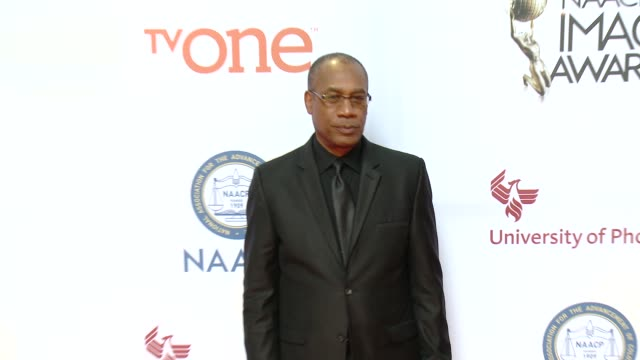 stockvideo's en b-roll-footage met joe morton at the 46th annual naacp image awards arrivals at pasadena civic auditorium on february 06 2015 in pasadena california - pasadena civic auditorium