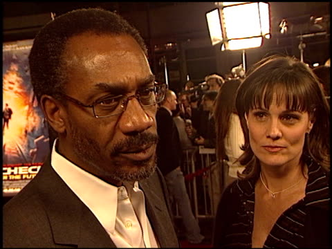 joe morton at the 'paycheck' premiere at grauman's chinese theatre in hollywood california on december 18 2003 - payslip stock videos & royalty-free footage