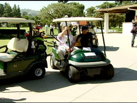 Joe Pesci at the 9th Annual Elizabeth Glaser Pediatric AIDS Foundation Celebrity Golf Classic at Lakeside Golf Club in Burbank California on October...