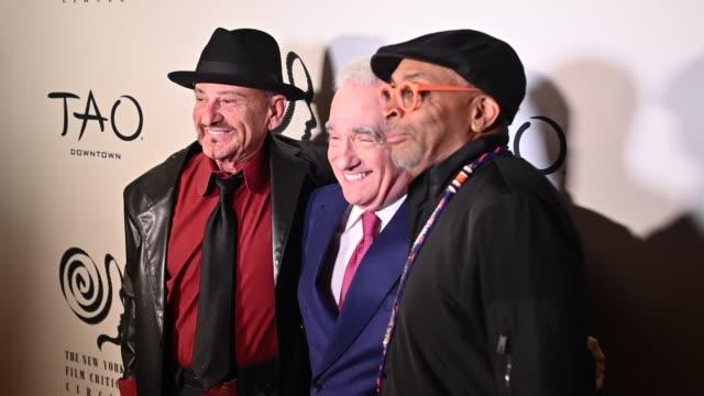 joe pesci, martin scorsese & spike lee at the 2019 new york film critics circle awards at tao downtown on january 07, 2020 in new york city. - martin scorsese stock videos & royalty-free footage