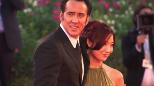 clean 'joe' red carpet event capsule clean 'joe' red carpet on august 30 2013 in venice italy - nicolas cage stock videos & royalty-free footage