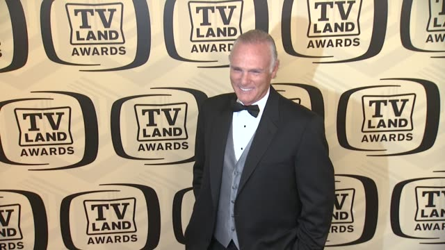 joe regalbuto at tv land awards 10th anniversary arrivals at lexington avenue armory on april 14 2012 in new york ny - tv land awards stock videos and b-roll footage