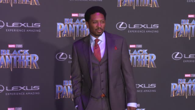 Joe Robert Cole at the Marvel Studios' 'Black Panther' World Premiere at Dolby Theatre on January 29 2018 in Hollywood California
