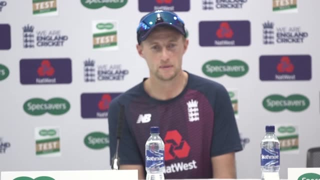 joe root has demanded england set the tone for the looming ashes series by riding the wave of their world cup triumph into their match against... - toned image stock videos & royalty-free footage