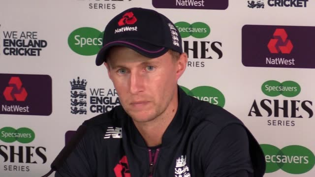 joe root insists he has confidence in the side england have named for the first test at edgbaston and believes jofra archer will have a part to play... - batsman stock videos & royalty-free footage