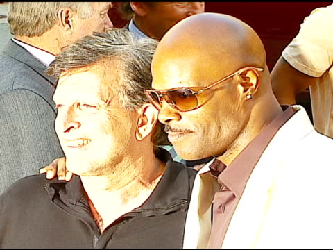 joe roth president of revolution studios and keenen ivory wayans at the 'little man' premiere at the mann national theatre in westwood california on... - mann national theater stock videos & royalty-free footage
