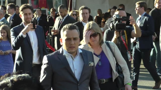 stockvideo's en b-roll-footage met joe russo arriving to captain america civil war premiere at dolby theatre in in hollywood in celebrity sightings in los angeles - dolby theatre