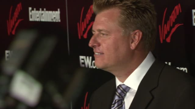 joe simpson at the upfront party hosted by entertainment weekly and vavoom at the box in new york, new york on may 15, 2007. - entertainment weekly stock videos & royalty-free footage