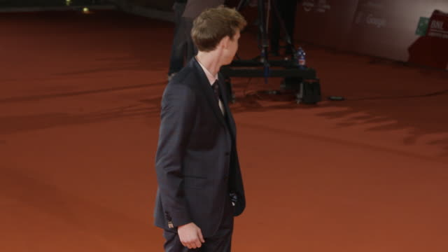 playing the part red carpet 12th rome film fest on november 01 2017 in rome italy - rome film fest stock videos and b-roll footage