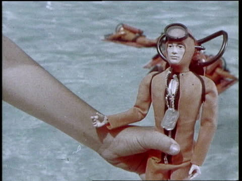 gi joe, the sinking capsule, tv commercial - 1970 stock videos & royalty-free footage