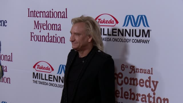 joe walsh at international myeloma foundation 6th annual comedy celebration benefiting the peter boyle research fund on 10/27/12 in los angeles, ca - peter boyle stock videos & royalty-free footage
