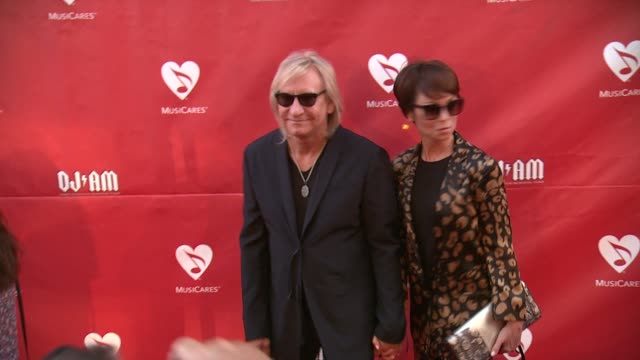 Joe Walsh Marjorie Bach at 2014 10th Annual MusiCares MAP Fund Benefit Concert Arrivals at Club Nokia on May 12 2014 in Los Angeles California